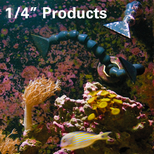 "1/4"" Aquarium Products"